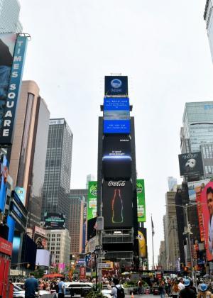 삼성전자, 8월 '삼성 갤럭시 언팩 2021' 앞두고 전 세계 곳곳서 옥외광고 진행